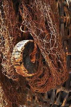 Brown | Netting | Wood | Fishing