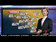 All hail Channel Seven's new weatherman