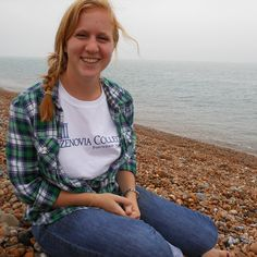 "A group of students visited Folkestone, England, a town on the coast of the English Channel. Kelsey Ruth '16 is showing off her Caz Gear and has been added to our board, ""Oh, the Places Caz Will Go!"" Check it out here: www.pinterest.com/cazcollege/oh-the-places-caz-will-go/ #CazenoviaCollege #StudyAbroad"