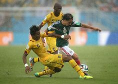 FIFA World Cup 2014 Mexico and Cameroon