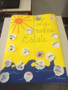 Lapbook di classe: la mia Estate