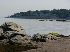 time in New England took me away... with long, rocky beaches and you by the bay