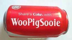 WPS Coke. I don't drink coke but WPS!