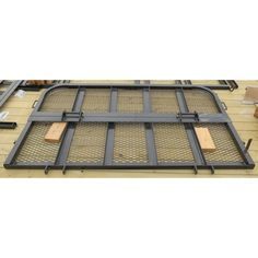 "Gate Bi-fold 83"" U8 reg side black"