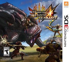 Monster Hunter 4 Ultimate (Nintendo 3DS) by Nintendo Platform: Nintendo 3DS | Rated: Ages 12 and Over 5.0 out of 5 stars  See all reviews (1 customer review) Price:£32.86 & FREE Delivery in the UK. Details In stock. Dispatched from and sold by Amazon. Gift-wrap available. Four-player online and local multiplayer More than 120 monsters to locate and battle Over 2,500 weapons to choose from throughout your quest Verticality feature lets you use the terrain to jump on monsters' backs