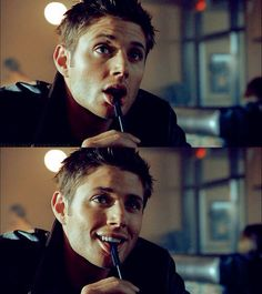 Jensen Ackles. I want to be that pen