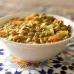 Coconut curry lentils