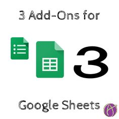 If you use Google Forms your data goes into a spreadsheet. Whether you are using Google Forms or are starting straight from a spreadsheet there are some great spreadsheet Add-Ons that can increase …