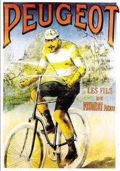 Advertising Peugeot bikes (France)