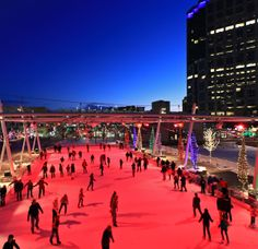 Outdoor Ice Rink!