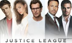 Actor Grant Gustin as Barry Allen/the Flash, Israeli actress Gal Gadot as Princess Diana of Greek Themyscira Amazons/Wonder Woman, English actor Henry Cavill as Clark Kent/Kal-El/Superman, actor Ben Affleck as Bruce Wayne/Batman and Canadian actor Stephen Amell as Oliver Queen/Green Arrow in JLA movie???  Justice League - Wallpaper 2/2 by AnthonyGarick on deviantART