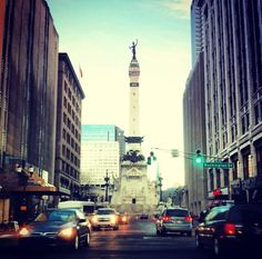 Downtown Indianapolis Indiana