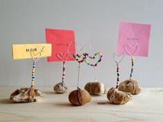 Ein Notiz-oder Fotohalter selbstgemacht. Als Geschenk für den Muttertag... ...oder Vatertag. Der...