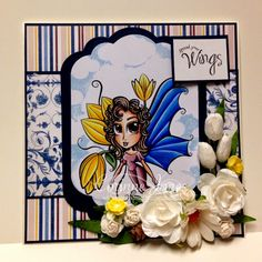 Wendy Tulip Fairy Flower Fairies, Fan Page, Wish, Scrap, Fairy, Tulip, Flowers, Stamps, Cards