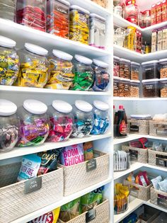 Tips: Snack Organization - The Home Edit Tips: Snack Organization - The Home Edit Keep your fridge nice and organized with these helpful tips! Inside The Home Edit's Pantry Makeover for Khloe Kardashian Kitchen Organization Pantry, Home Organisation, Pantry Storage, Organized Pantry, Refrigerator Organization, Organization Ideas, Pantry Ideas, Closet Storage, Home Organizer Ideas