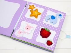 Quiet book Matching picture Toddlers quiet book Busy book