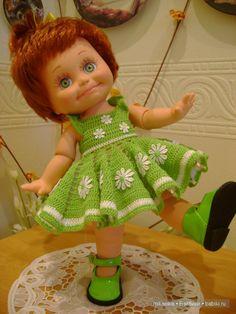 Вяжу...вяжу...Наряды для Фейсинок / Одежда и обувь для кукол - своими руками / Бэйбики. Куклы фото. Одежда для кукол