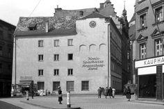 Neupfarrplatz - Kreissparkasse Am Spielhof (C) Stadt Regensburg
