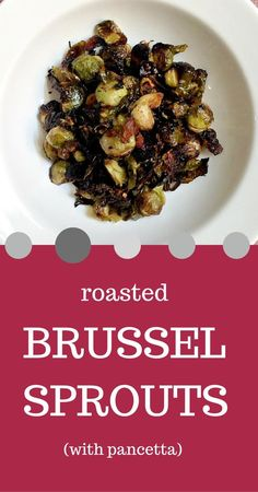 Roasted Brussel Sprouts Gina at Home Gina at Home - recipes and ...