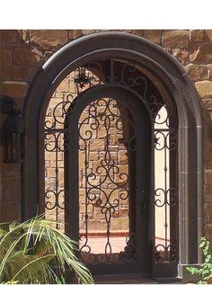 Durango Door.  Precoisa 1.  No glass.  Can be door or can be gate.