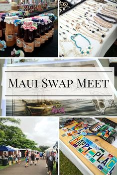 Why the Maui Swap Meet is the go-to place to pick up great Hawaii gifts and souvenirs. Why the Maui Swap Meet is the go-to place to pick up great Hawaii gifts and souvenirs. Hawaii 2017, Visit Hawaii, Aloha Hawaii, Hawaii Life, Trip To Maui, Hawaii Vacation, Vacation Ideas, Vacation Planner, Dream Vacations