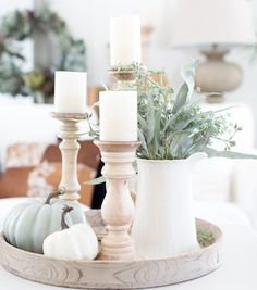 Give your home decor a cozy farmhouse makeover this Fall. These farmhouse Fall decor ideas will give your home a rustic, country look. There are over 50 ideas for indoor and outdoor decor. Indoor Farmhouse Fall Decor Ideas Distressed Dollar Store Pumpkins with a Crackle Finish $1 foam pumpkin + glue + acrylic paint + wooden branches …
