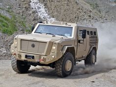 RCV SURVIVOR I 4x4: reconnaissance and command all terrain and high mobility vehicle. - Image - Army Technology
