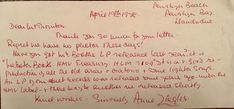 ANNE ZIEGLER. OPERATIC SINGER SHORT HAND WRITTEN LETTER | eBay Handwritten Letters, Hand Written, Letter Writing, Handwriting, Singer, Lettering, Ebay, Text Posts, Calligraphy