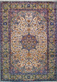 "Esfahan Persian Rug - 7' 9"" x 10' 10"""
