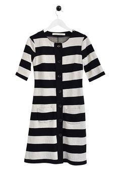 This Bric-a-brac dress is what I imagine Anna Wintour wearing back in the sixties before she was, you know, Anna Wintour. —erica