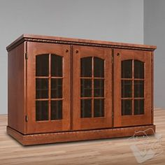 Vinotheque Clos Pegase Credenza with N'FINITY Cooling Unit at Wine Enthusiast - $7495.00