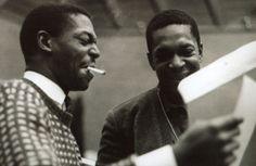 Jimmy Garrison and John Coltrane