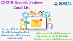 International marketing database helps you establish a strong connect with your target audience by giving you access to all relevant information to reach out to them via telephone, email or mail. International business opportunities are growing every. B2b Email Marketing, Business Emails, Email List, Business Opportunities, Czech Republic, Blog, Blogging, Bohemia