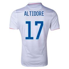 Nike Jozy Altidore USA Authentic Home Jersey 2014