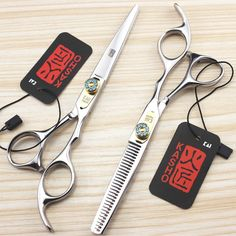 6 Inch High Quality Kasho Professional Hair Scissors Hairdressing Barber Shears Set Salon Equipment Tools Cutting Thinning Kit