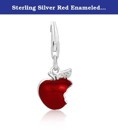 Sterling Silver Red Enameled Bitten Apple Charm for Women 0.38mm. Sterling Silver Red Enameled Bitten Apple Charm for Women 0.38mm Why Us: We our dedicated to provide Amazon customers with excellent service and good quality products. Our mission statement is to bring only the most stylistic Ladies Jewelry with extreme protection to the market. We pride ourselves in offering only the highest in quality so please order with confidence: Being an authorized seller with thousands of satisfied...