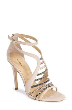 Free shipping and returns on Ivanka Trump 'Hayze' Ankle Strap Sandal (Women) at Nordstrom.com. Metallic leopard-print leather illuminates the slim, curved straps of an elegant caged sandal.