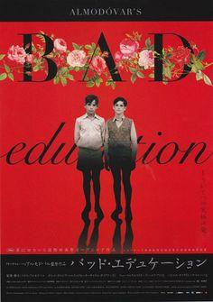 LA MALA EDUCACION aka BAD EDUCATION (Dir. Pedro Almodóvar, 2004) Japanese poster