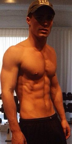 """The former Arrow star took to Instagram on June 17, 2015, to show off his insane abs and toned arms. Colton posted the pic with the simple caption """"Workout Wednesday,"""" although it looks like he probably works out on the other six days of the week as well."""