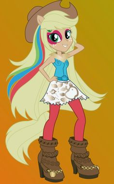 MY LITTLE PONY: Equestria Girls: ¡Posters de Las Equestria Girls Rainbow Rocks!