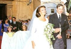 Wedding of Count Louis of Limburg-Stirum (*1962) and Belen Lopez-Montero (*1965)