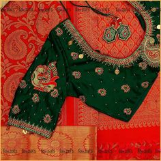 48 Ideas For Embroidery Machine Designs Tags Best Blouse Designs, Wedding Saree Blouse Designs, Best Embroidery Machine, Machine Embroidery Designs, Embroidery Fashion, Embroidery Blouses, Indian Embroidery, Saree Blouse Patterns, Work Blouse