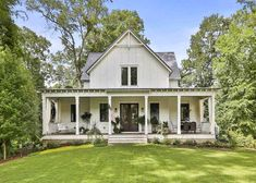 """This Modern Farmhouse in Georgia was featured in Country Living Magazine, which declared it """"One of the prettiest farmhouses we've ever seen."""""""