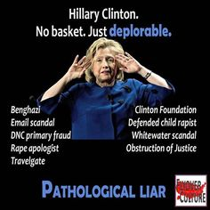 SHE'S NOT TRUSTWORTHY AND IS  A CROOKED CONNIVING CORRUPT EVIL INCOMPETENT CRIMINAL THAT IS TRYING TO IMPLEMENT A NEW WORLD ORDER, WHERE ISLAM WOULD DOMINATE--She's funded by the muslim brotherhood and bilderberg group who are behind all this