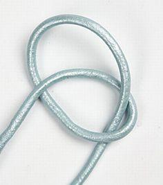 Bracciale con nodi a catena | guida fai da te