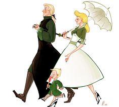 acciobrain! Those Marvellous Malfoys