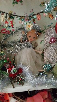 Vintage Christmas Maggie Neale Christmas Tree Fairy, Christmas Time Is Here, Very Merry Christmas, 12 Days Of Christmas, Christmas Music, Retro Christmas, Vintage Holiday, Christmas Wreaths, Christmas Decorations