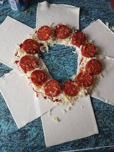 Samantha van Eijk heeft eenpizza brood gemaakt voor in de airfyer.