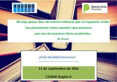 Bibliotecarios Escolares de la Región 6 CENDIE: ¡FELIZ DÍA BIBLIOTECARIOS!