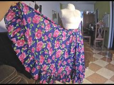 Diy Dress, Dress Skirt, Folklorico Dresses, Little Girl Dresses, Girls Dresses, Mexican Outfit, Modelista, Sewing Clothes, Refashion
